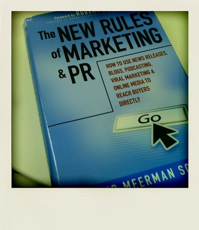 new rules of marketing and pr Just when marketers think they know it all, a fresh tactic, social media platform, or consumer trend emerges the best marketing strategies embrace the fast-paced nature of the marketing environment david meerman scott's the new rules of marketing and pr: how to use social media, online video.